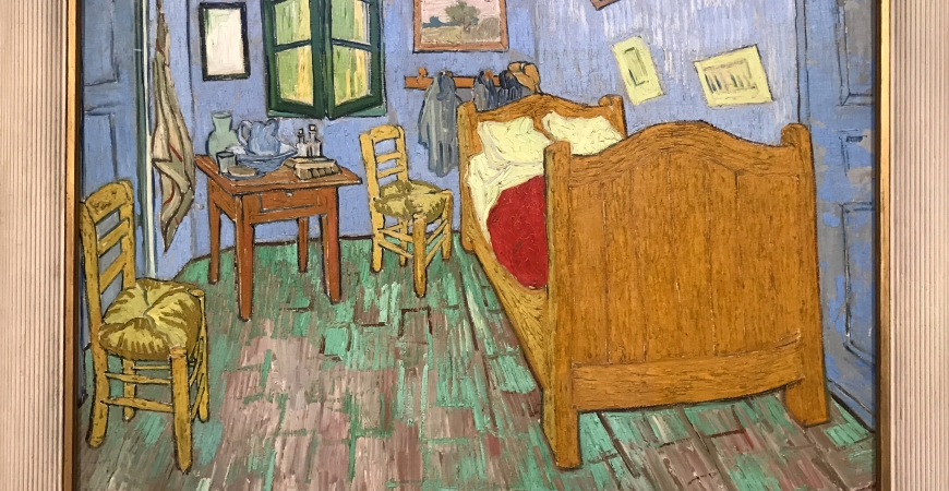Choosing Van Gogh and an untidy bedroom