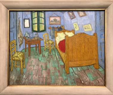 Van Gogh, The Bedroom, 1889, Art Institute of Chicago Version (on loan to Norton Simon Museum)