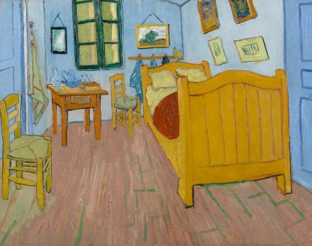 The Bedroom, Van Gogh, 1888, Amsterdam Version at the Van Gogh Museum in Amsterdam