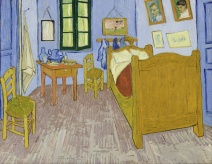 The Bedroom, Van Gogh, 1889, Musée d'Orsay Version
