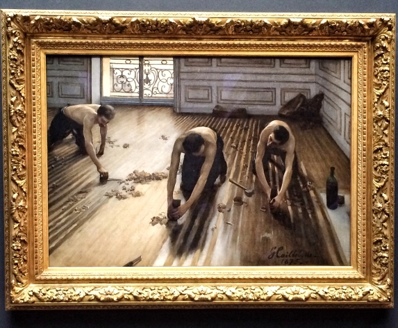 Gustave Caillebotte, The Floor Scrapers, 1875. Musée d'Orsay.