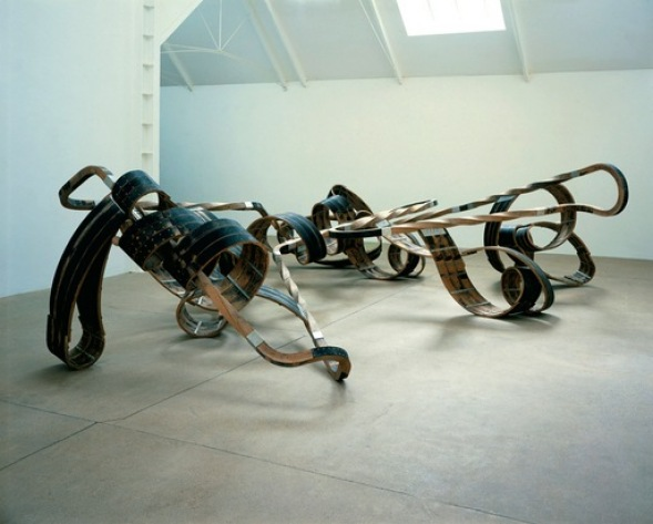 Richard Deacon, Out of Order, 2003 © Courtesy Lisson Gallery and Richard Deacon