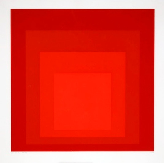 Josef Albers, Homage to the Square I-Sa, 1968, (Dallas Museum of Art)