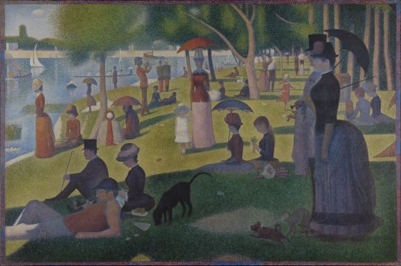 Georges Seurat, A Sunday at La Grande Jatte, 1884, Art Institute of Chicago