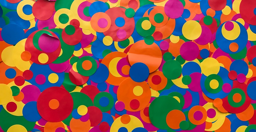 Self-Obliterated by Yayoi Kusama