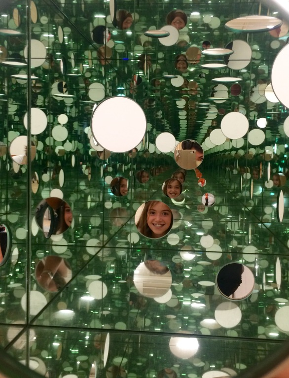 Inside View, Yayoi Kusama, The Passing Winter, 2005, Tate Modern, London