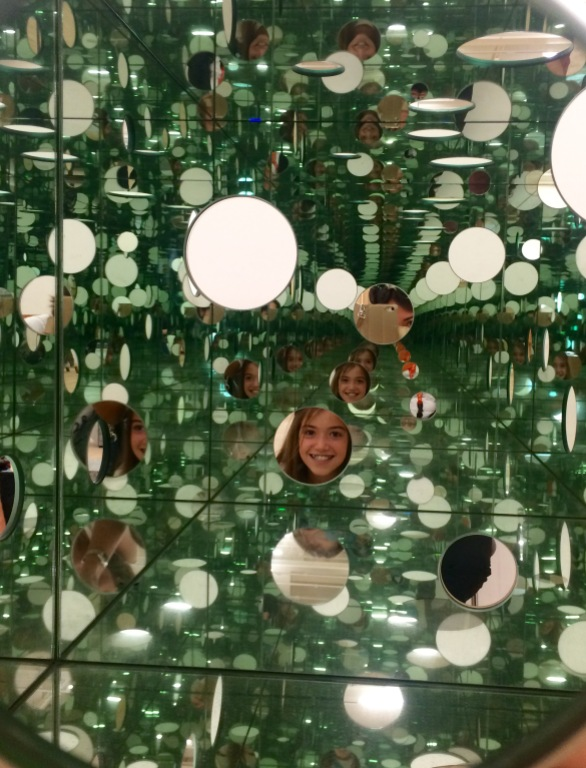 Inside View, Yayoi Kusama, The Passing Winter, 2005, Tate Modern, London
