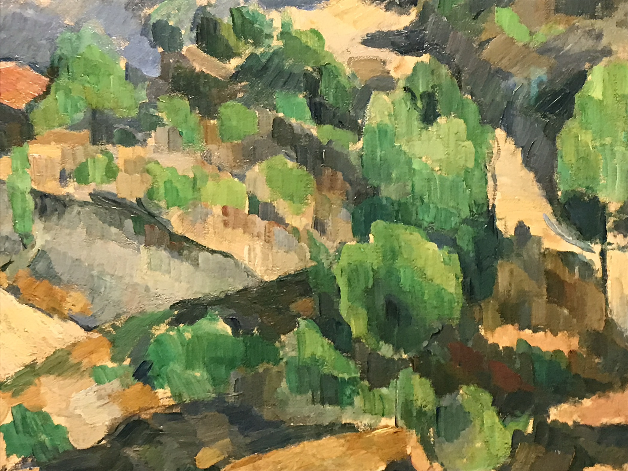 Cézanne peint…