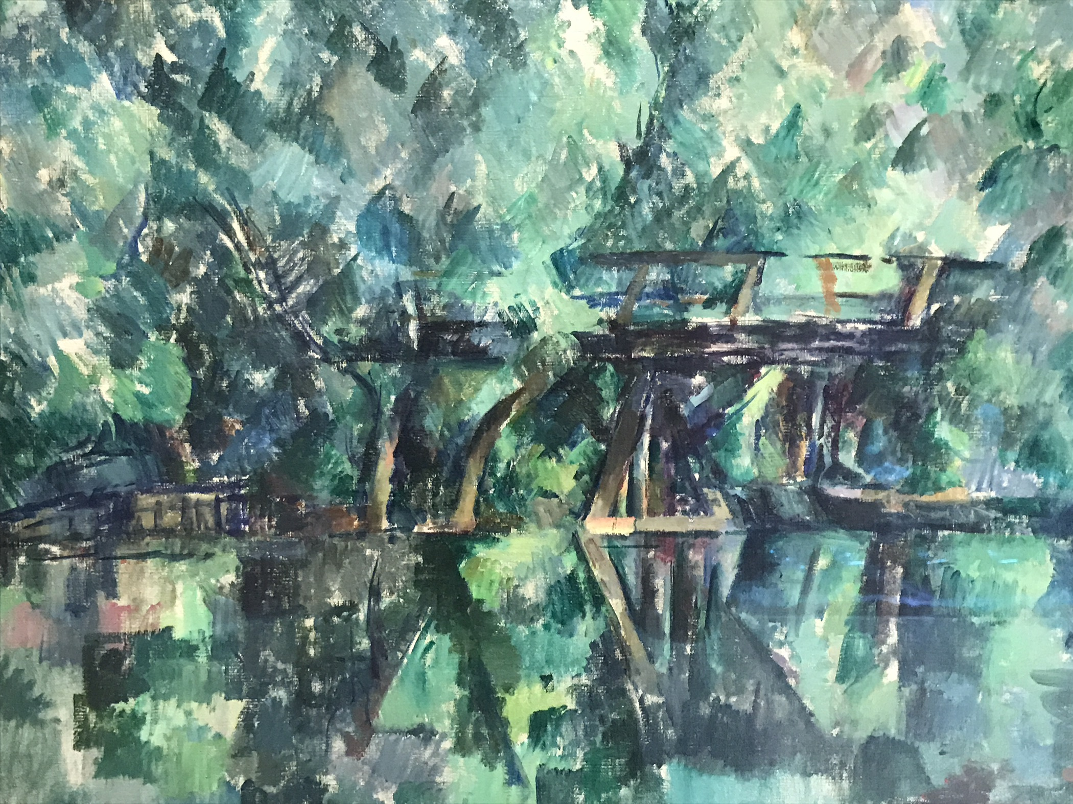 Cézanne peint… – ReinventIngrid
