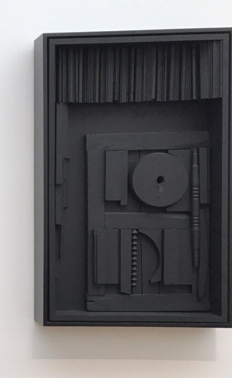 Louise Nevelson, Sky Gate, 1973, Musée d'Arts de Nantes