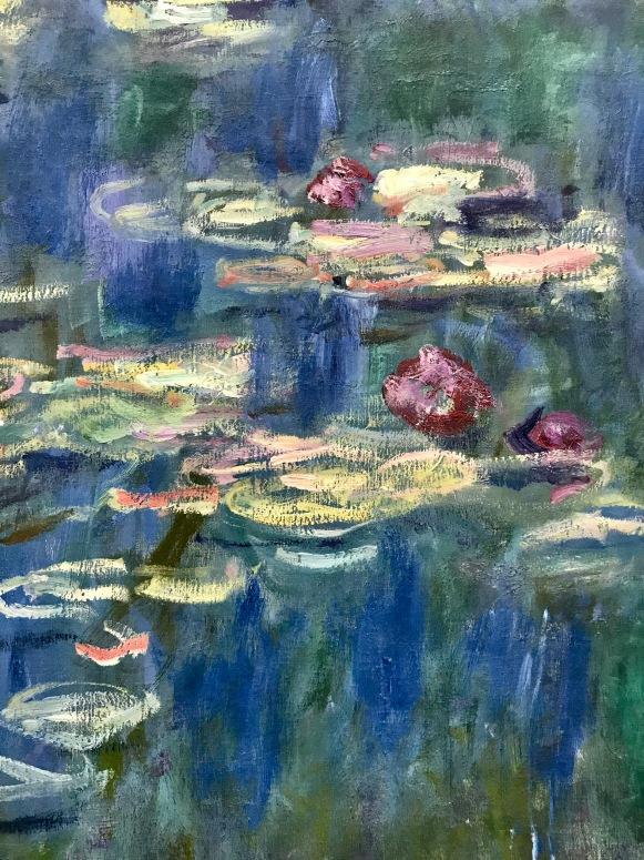 Details from Claude Monet, Nymphéas, Musée de l' Orangerie