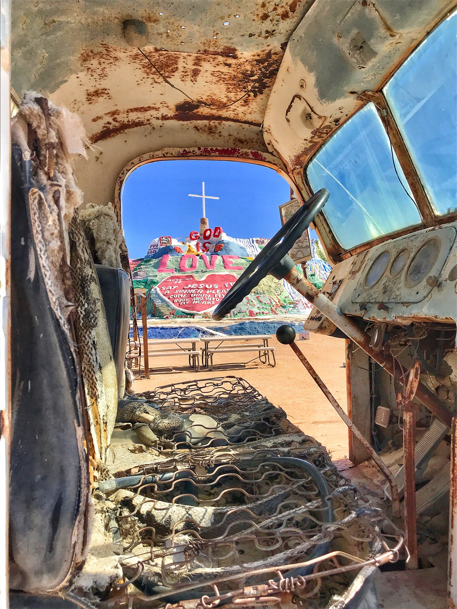 California Desert Road Trip to Salvation Mountain & Noah Purifoy Outdoor Museum